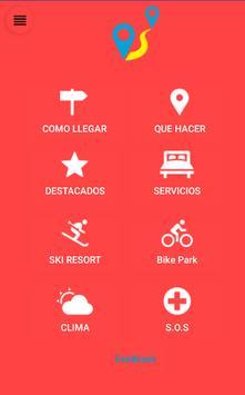 Las Trancas app poster