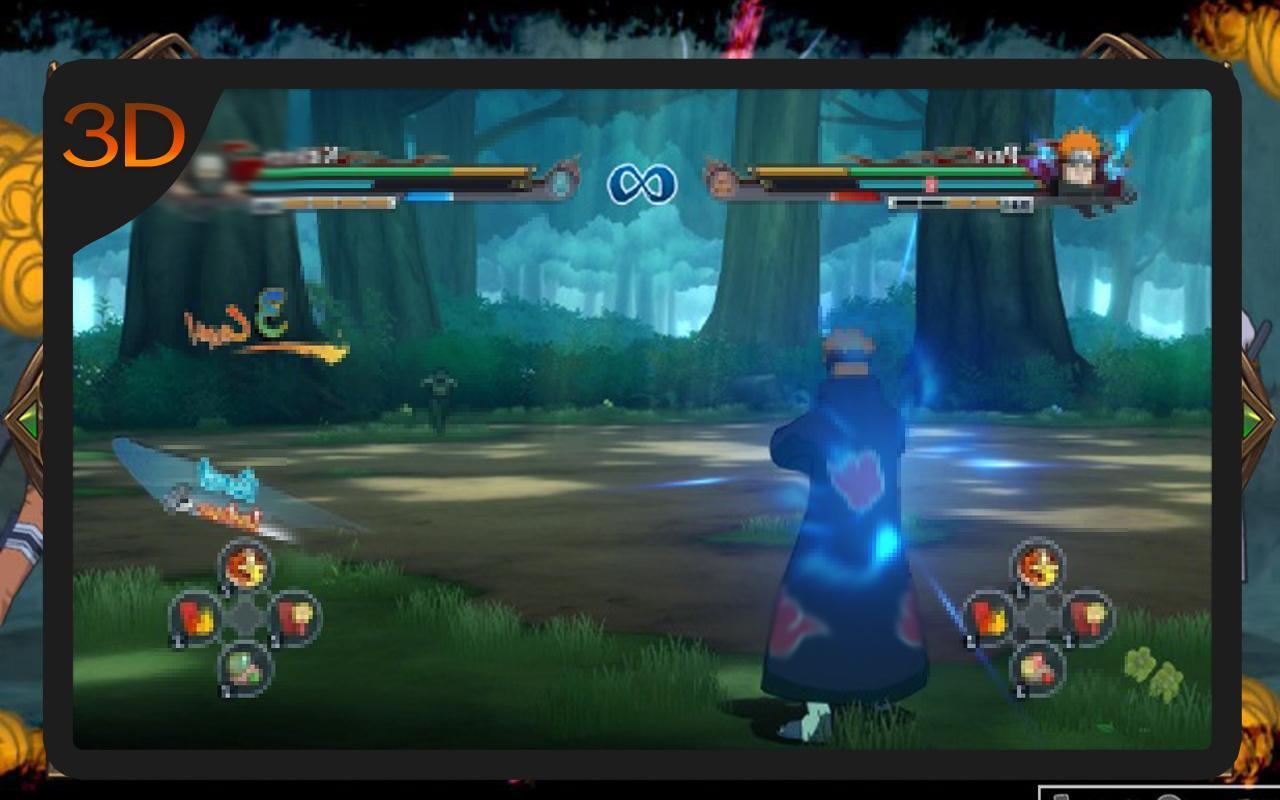 download game naruto ninja impact 500mb