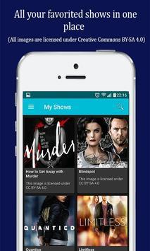 UpNext TV Series Manager apk screenshot