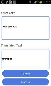 Irish English Translator apk screenshot