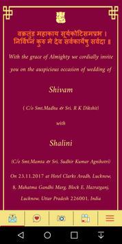 Shivam weds Shalini poster