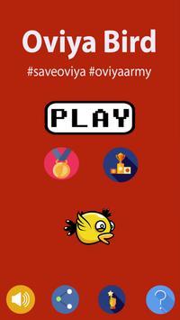 Oviya Bird - Save Oviya - Big boss unofficial game poster