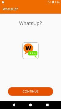 WhatsUp? apk screenshot