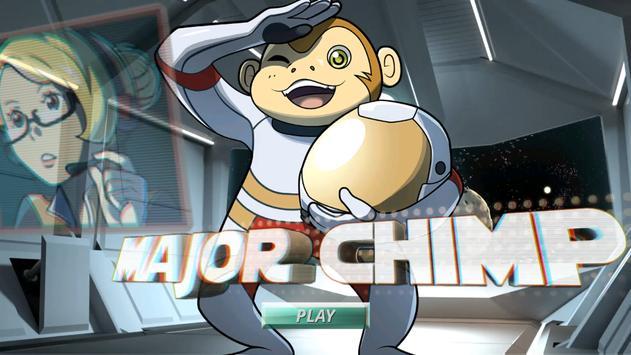 Major Chimp poster