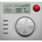 Radio recorder icon