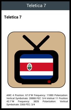 Costa Rica TV Channels screenshot 1