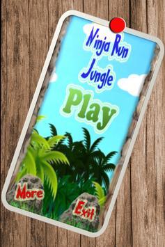 Ninja Run Jungle apk screenshot