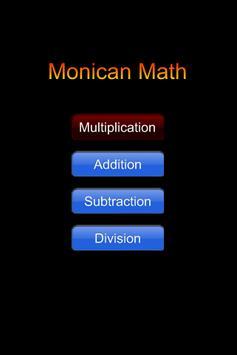 Monican Math poster