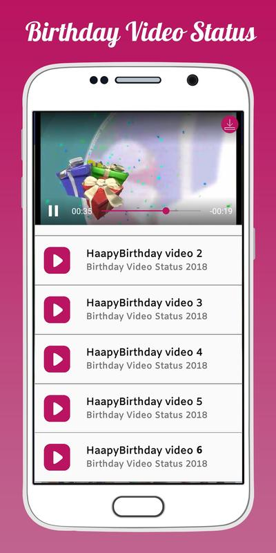 happy birthday video download for mobile