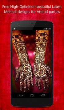 Bridal Mehandi Design screenshot 1