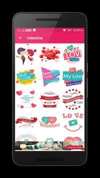 Kiss Me Love Stickers screenshot 3