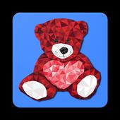 Teddy Love Stickers & Emoticons ♥♥ icon