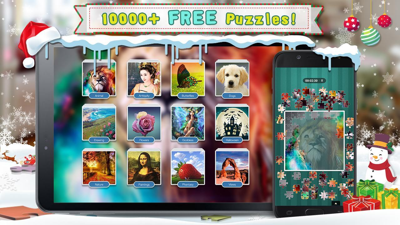 Fun Jigsaw Puzzles World 2018—FREE adult puzzles for Android