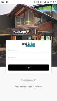 The UPS Store Small Biz Buzz poster