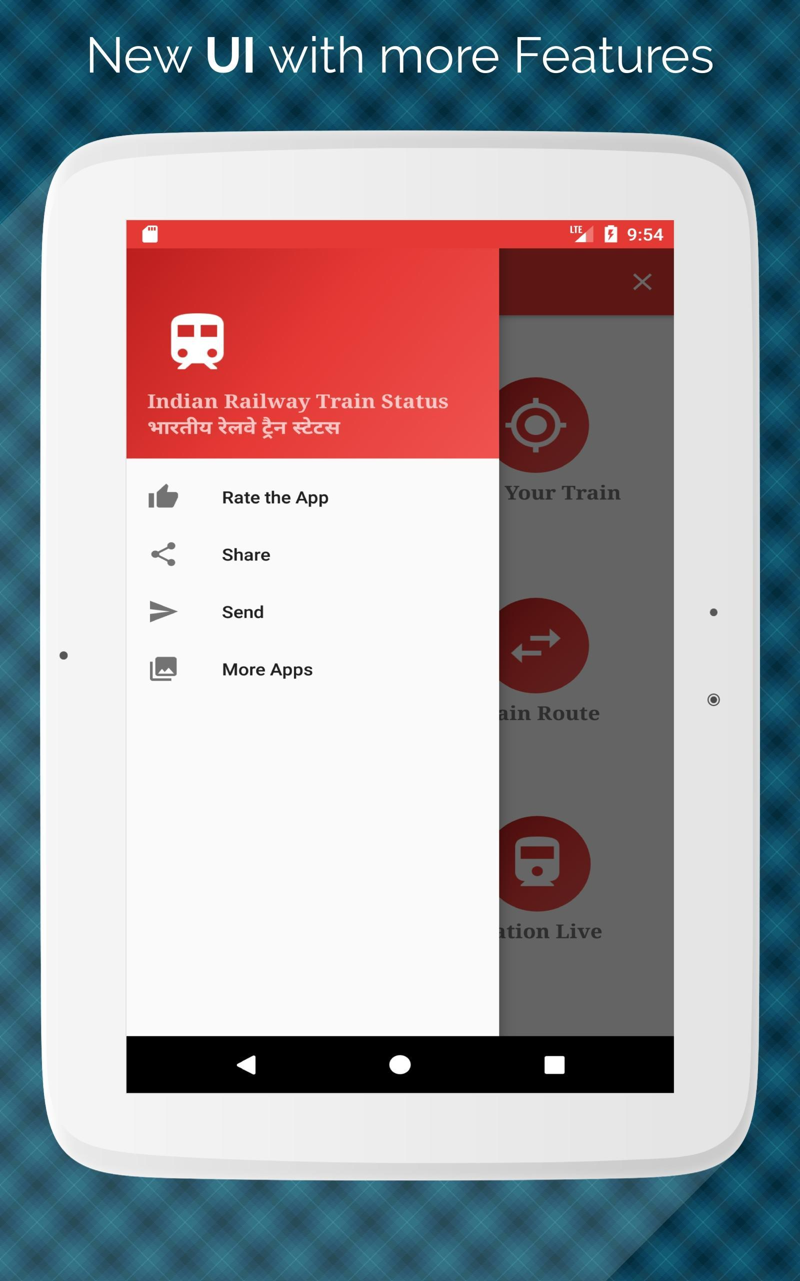Indian Railway Train/PNR Status Tracking App for Android
