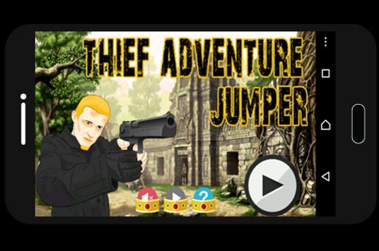 Thief Adventure Jumper poster