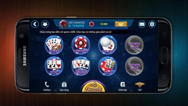... Tai game danh bai doi thuong, game bai doi the cao screenshot 1 ...
