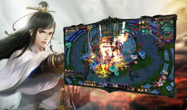 Thien Long Truyen Ky Vo Lam 3D poster