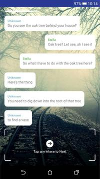 Wit - Free scary hooked lure chat stories TapTales screenshot 2