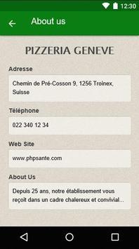 Pizzeria Genève apk screenshot