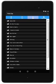Third Day Lyrics apk screenshot