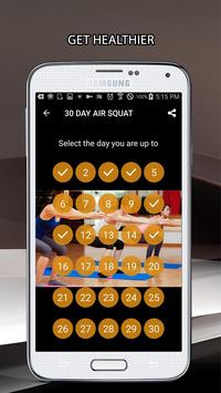 30 Day Air Squat Challenge screenshot 1