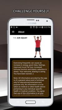 30 Day Air Squat Challenge screenshot 7