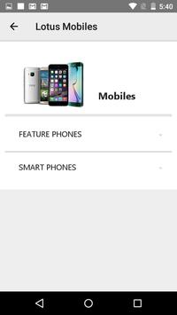Lotus Mobiles screenshot 1