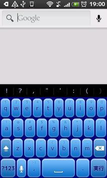 Blue3D KeyboardSkin poster