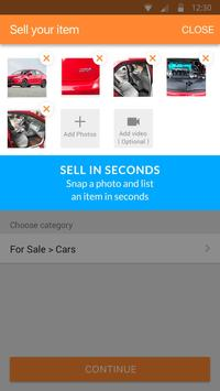 Schermata apk 5miles: Buy and Sell Used Stuff Locally