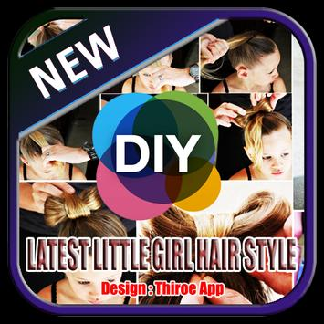 Latest Little Girl Hair Style DIY Step By Step poster