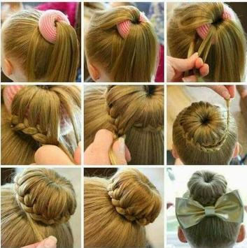 Latest Little Girl Hair Style DIY Step By Step apk screenshot