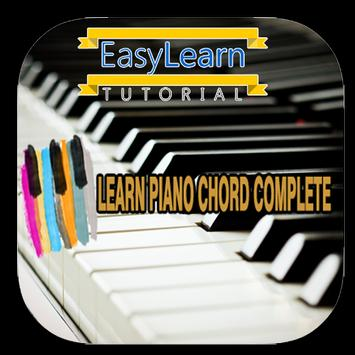 Learn Piano Chord Complete poster