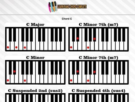 Learn Piano Chord Complete screenshot 10