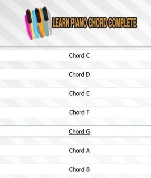 Learn Piano Chord Complete screenshot 11