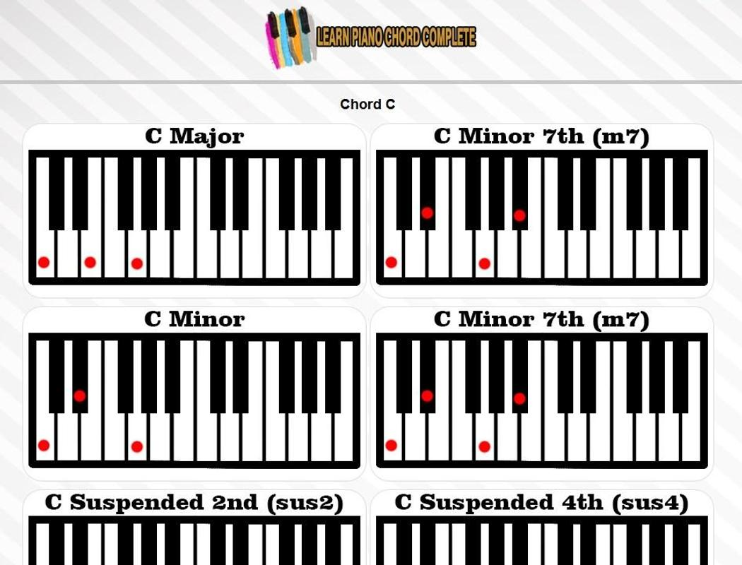 Learn Piano Chord Complete For Android Apk Download