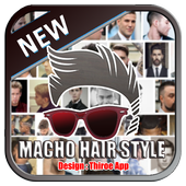 Macho Hair style icon
