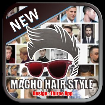 Macho Hair style poster