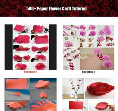 500 paper flower craft tutorial for android apk download 500 paper flower craft tutorial screenshot 17 mightylinksfo