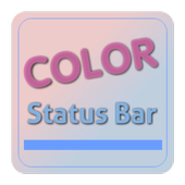 Color Status Bar icon
