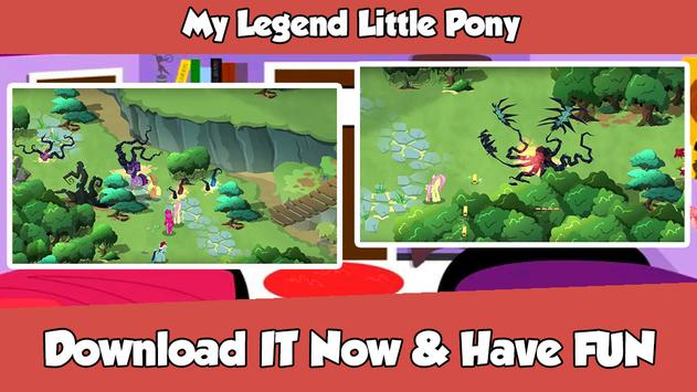 My Legend Little Pony poster