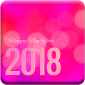 Happy New Year Top SMS 2018 icon