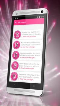 Happy New Year Top SMS 2018 apk screenshot