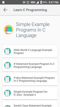 Learn C Programming screenshot 3