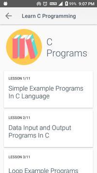 Learn C Programming screenshot 2