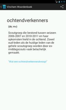 Vinchem Woordenboek poster