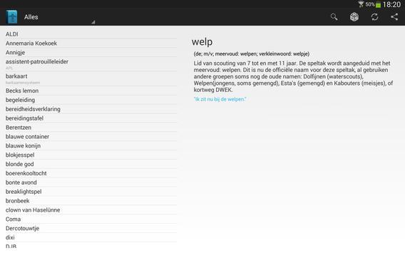 Vinchem Woordenboek apk screenshot
