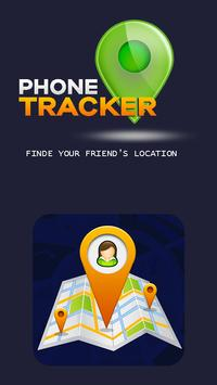 Phone tracker by GPS poster