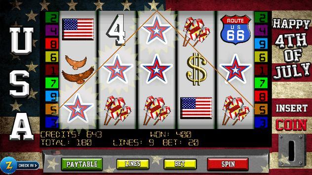 4th of July Slots apk screenshot