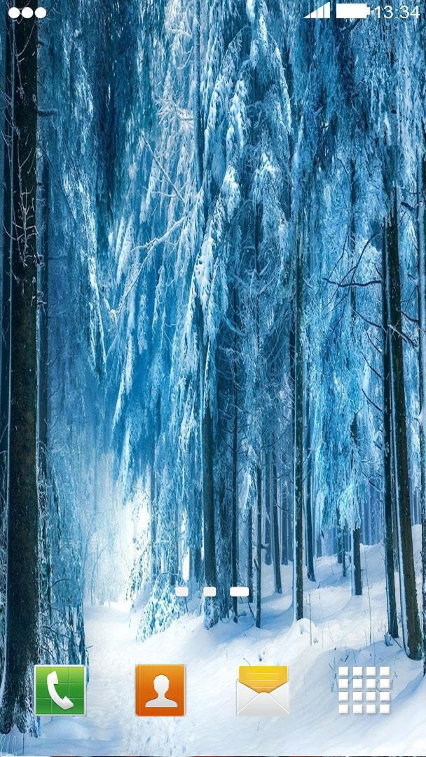 Snowfall Wallpaper Hd Wallpaper For Android Apk Download